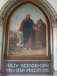 Allehelgensgudstjeneste i Vesløs (AS)