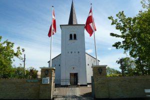 Gudstjenste i Klim (PH) - generalforsamling og madkurv i præstegården efter gudstjenesten